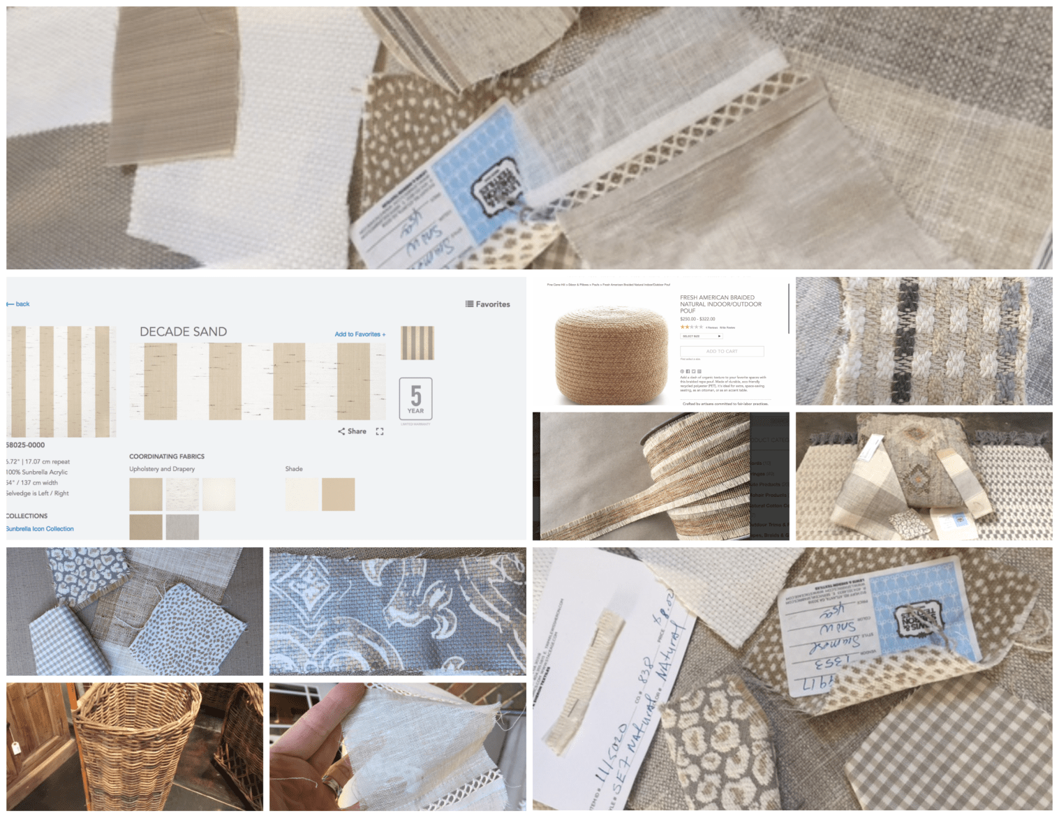Furniture Samples by Artful Interiors