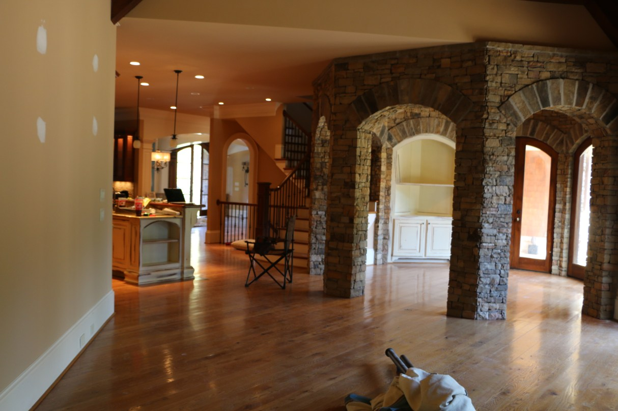 Stone Arches by Artful Interiors