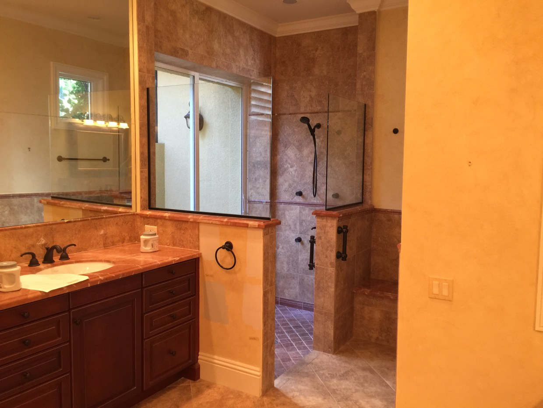 Walk In Shower by Artful Interiors