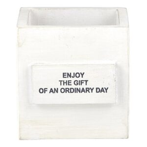 """""""Enjoy The Gift Of An Ordinary Day"""" Nest Box"""